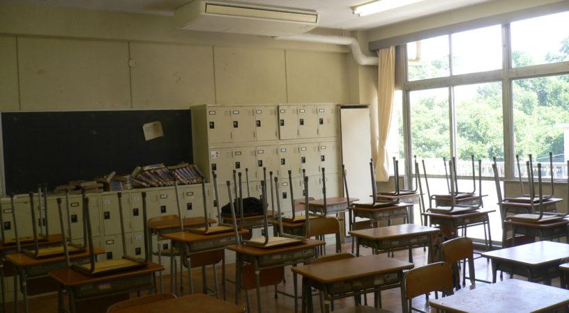 小学校教室空調機イメージ