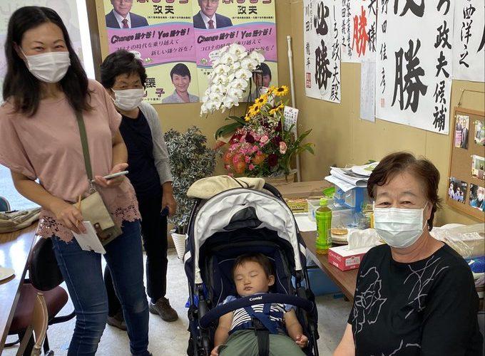 鎌ケ谷市長選挙 ふじしろ政夫 5日目
